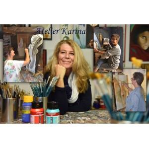 Expositie Karina en haar schildersclub in museum Soest