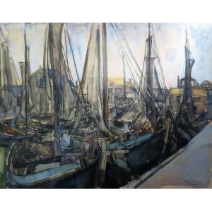Schilderijen voor museum Spakenburg