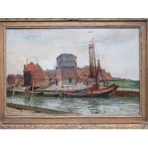 Nieuw Schilderij voor museum Spakenburg