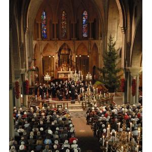 Kerstconcert Sint Jans Schola in Sint Jans Basiliek,