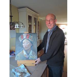 Expositie schilderijen Theo Roose