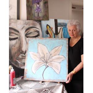 Expositie schilderijen Ria Huurdeman Beijer